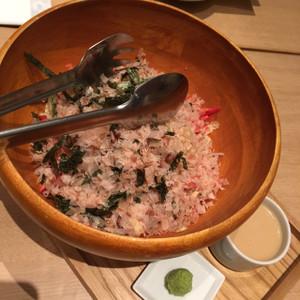 冬野菜と鯛のサラダ