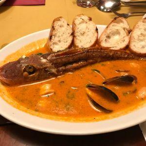 魚介の煮込みヴェネチア風