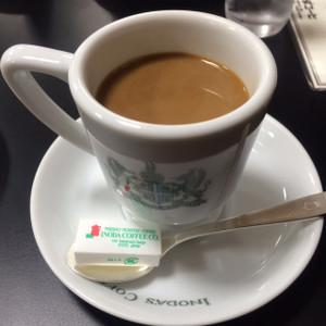 ホットコーヒー「アラビアの真珠」
