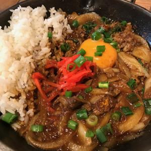 牛丼風カレー
