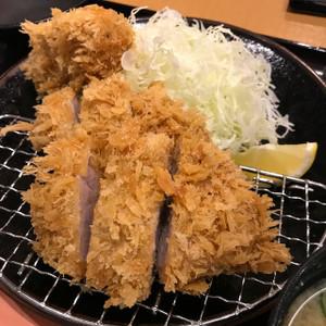 ヒレカツ定食+かきフライ